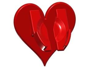 Heart Watch Holder
