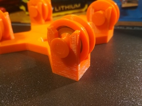 Ball Bearing Roll for Adjustable Spool Holder for the Original Prusa i3 MK3 ENCLOSURE