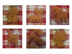 Doggie Cookie Cutters #1