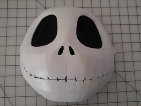 Wearable Jack Skellington Mask