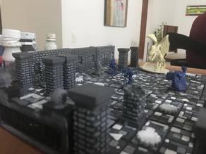 D&D castle of ravenloft complete tile set