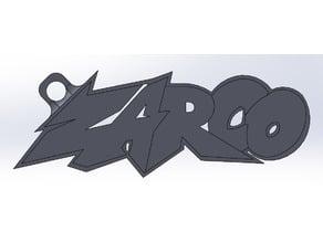 Zarco logo keychain / porte-clef