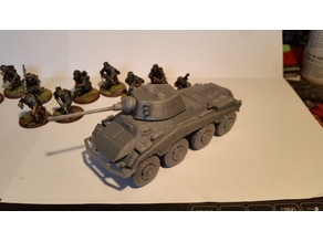 Sd.Kfz 234/2&X Puma scaled for 28mm+split with alignment holes