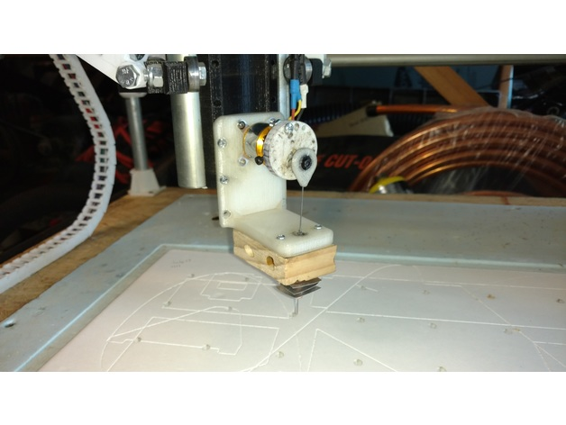 Needle foam cutter for mpcnc by moebeast - Thingiverse