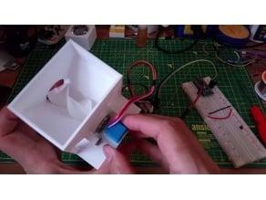Pet feeder, screw fed hopper using arduino