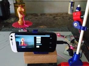 Adjustable Laser mount for Adafruit Laser Modules (3D Scanner)