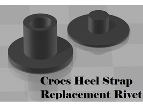 Crocs Heel Strap Replacement Rivet