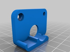 FlashForge Creater/Pro spring loaded extruder block