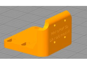 wanhao D9 head bracket for MGN12H rails