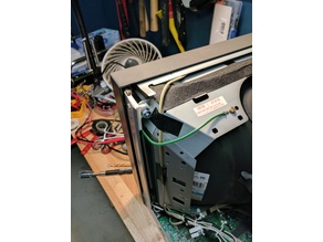 Sony PVM-14M2U CRT Retainer Repair Bracket