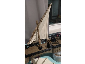 Sails and Masts for Ship Models - Oakenspire