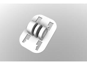 GoPro to Smartphone/GPS mount adapter