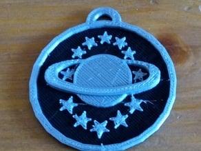 Galaxy Quest Guy's pendant