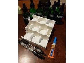 Bottle Holder (8 dropper bottles)