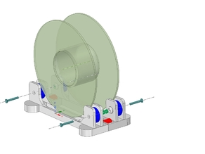 adjustable filament Holder