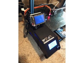 Octoprint Raspberry Pi stand for CR10 series controller box