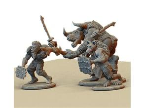 A Hobgoblin, A Minotaur, and A Gnoll walk into a bar.