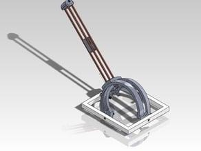 MRI needle biopsy robot