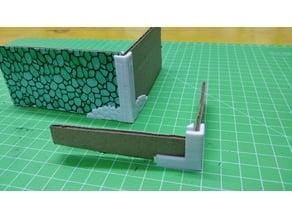 Cardboard Dungeon Wall