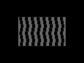 Horrizontal Line Box optical illusion