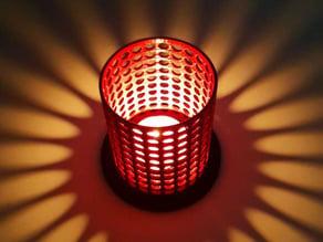 Lampara para mini velas - Lamp for mini candles