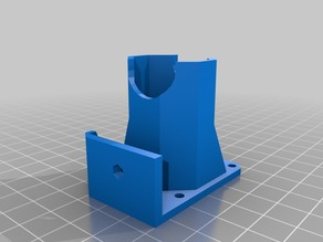 Fan Shroud for Prusa i3 Jhead on Greg Wades Extruder