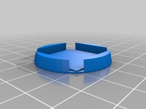25mm Square to 32mm Round Base Converter