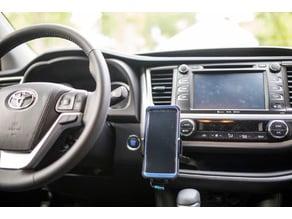 Toyota Highlander wireless charging mount holder