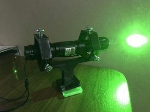 Laser Holder for Telescope