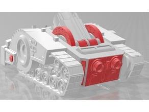 New crawler tank accents