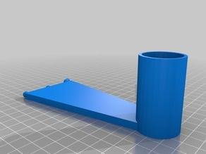 Simple Pegboard Filament Spool Holder