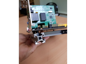 2020 extrusion profile motherboard M3 mount