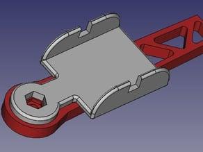 "XuGong - Arm - DJI ESC holder - 8"" and 10 """