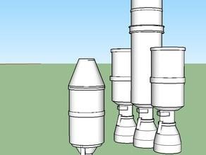 simple Kerbal rocket