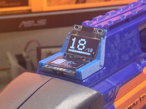 Nerf Rapidstrike Dual OLED Display Bracket