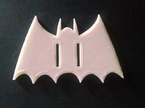 Book keep- 1950's Bat emblem