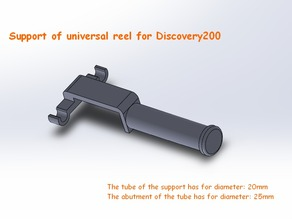Support of universal reel for Discovery200 (EN/FR)