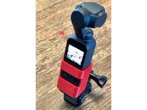 DJI Osmo Pocket GoPro Mount