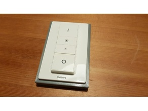 Simple Philips Hue remote cover