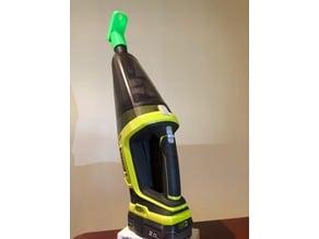 Drill dust catcher for Ryobi hand vacuum