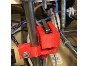 RepRap Mendel Custom Z-Stop Switch Holder