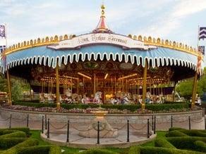 Disney King Arthur's Carousel