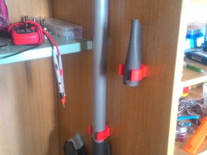 Vacuum cleaner wall mount