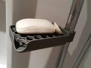 Soap Holder with 25mm Clip