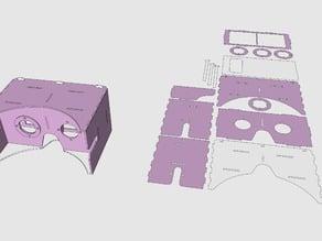 Cardboard Google LaserCut