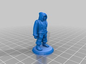 Ice Hunter 28mm Miniature