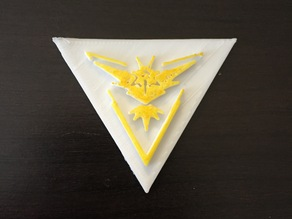 Team Instinct Badge