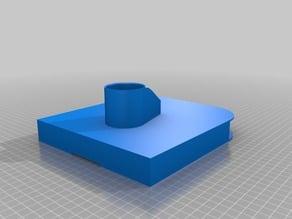 Nexus Player and Organizer Shelf to fit on top of VESA 3x MONITOR RACK MAIN POST