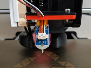 BLTouch center mount for Maker Select Plus and Variants