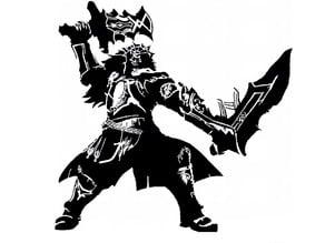 Ganondorf stencil